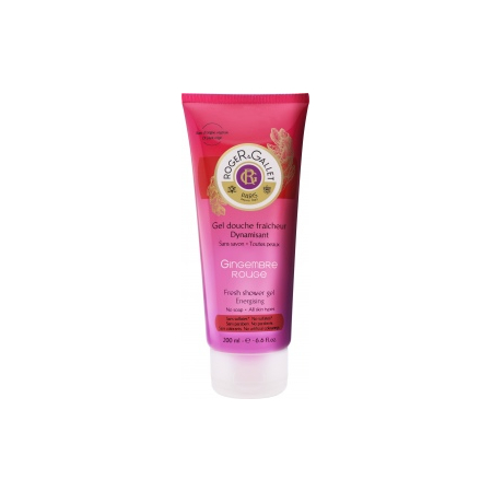 Gel douche dynamisant Gingembre rouge
