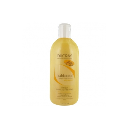 Cheveux Secs Nutricerat Shampooing Traitant Ultra-Nutritif  200 ml + 100ml offerts - Ducray