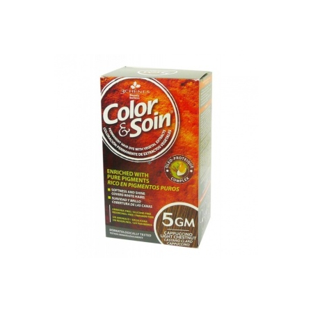 Color & soin - Chatain clair cappuccino 5GM - Les 3 Chênes