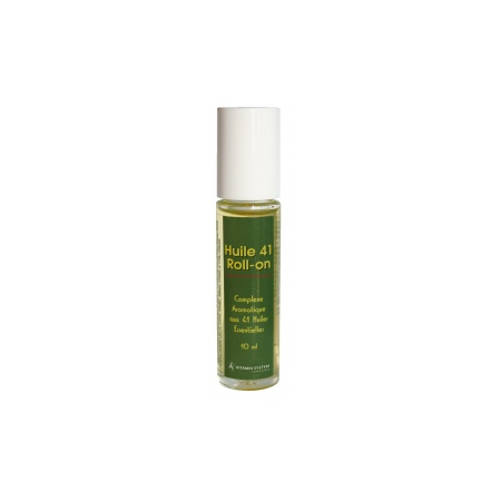 ROLL-ON HUILE 41 – 41 huiles essentielles HEBBD – 10 ml - Vitamin System