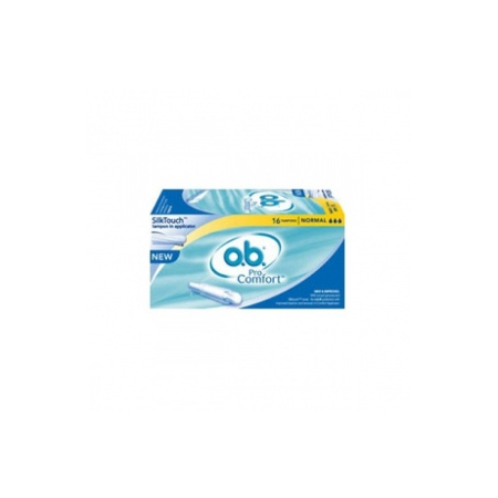 Tampons ProComfort Normal avec applicateur - boite de 16
