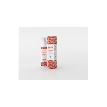 Huile de massage STRAWBERRY - Exsens