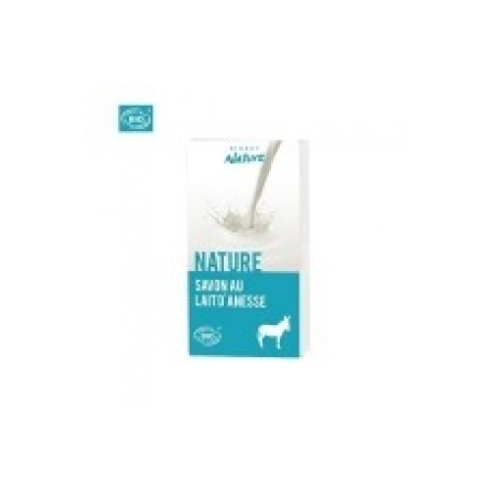 Savon au lait d'anesse Nature - Direct Nature