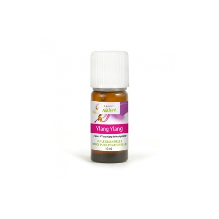 Huile essentielle de  Ylang-Ylang 10 ml - Direct Nature