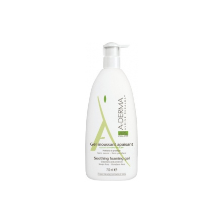 Gel Moussant Apaisant Lait d'Avoine Rhealba - 750 ml