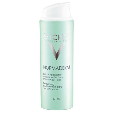 Normaderm Soin Embellisseur anti-imperfections hydratation 24h 50 ml - Vichy Laboratoires