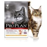 Pro Plan Cat Adult Saumon 3 kg Croquettes chat OPTIRENAL