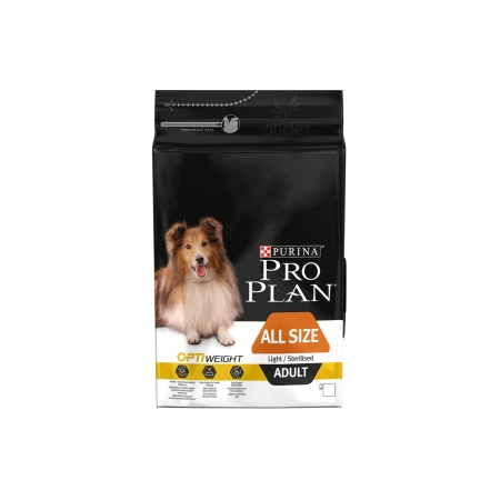 Pro Plan Dog All Size Light Sterilised Poulet 14 kg Croquettes chien OPTIWEIGHT
