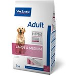 Virbac Veterinary HPM Adult Large & Medium Dog - Pour chien adulte - Sac 12 kg