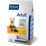 Virbac Veterinary HPM Adult Small & Toy Dog - Pour petit chien - Sac 7 kg - Virbac