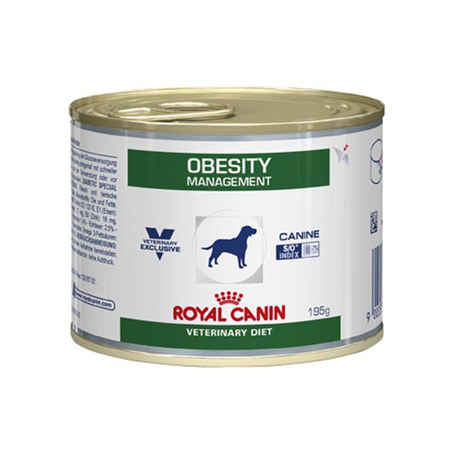 Aliment humide Royal Canin Veterinary Diet Dog Obesity 12 x 195 g pour chien