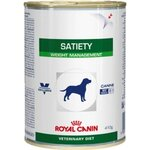 Aliment humide Royal Canin Veterinary Diet Dog Satiety Support 12 x 410 g pour chien