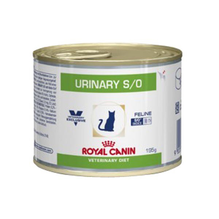 Aliment humide Royal Canin Veterinary Diet Cat Urinary Poulet 12 x 195 g pour chat