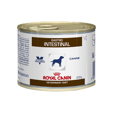 aliment humide royal canin veterinary diet dog gastro intestinal 12 x 200 g pour chien de royal. Black Bedroom Furniture Sets. Home Design Ideas