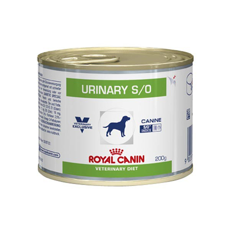 Aliment humide Royal Canin Veterinary Diet Dog Urinary 12 x 200 g pour chien