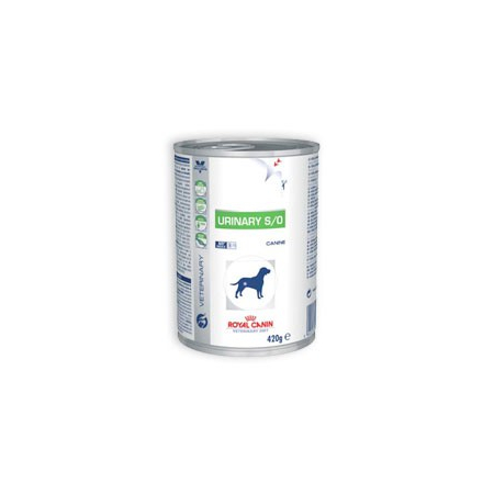 Aliment humide Royal Canin Veterinary Diet Dog Urinary 12 x 410 g pour chien