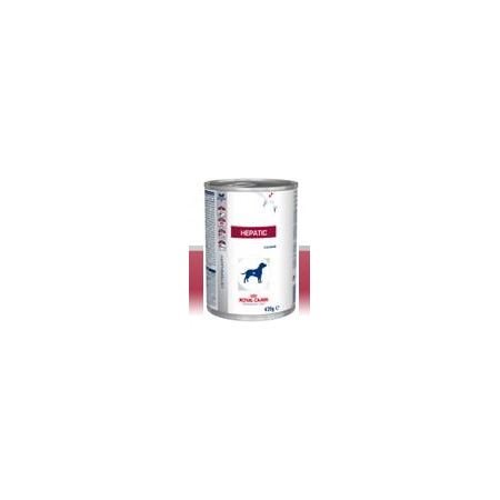 Aliment humide Royal Canin Veterinary Diet Dog Hepatic 12 x 420 g pour chien