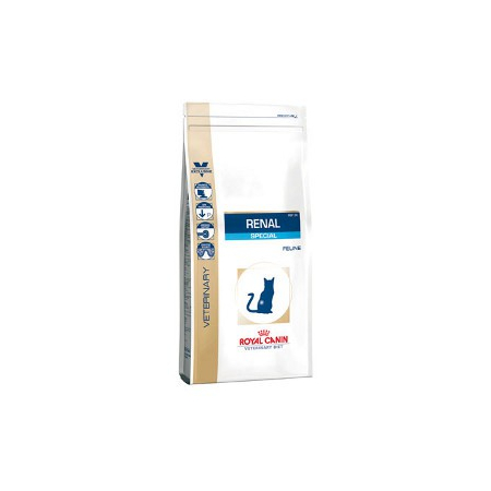 Croquettes Royal Canin Veterinary Diet Cat Renal Special RSF26 sac 500 g pour chat