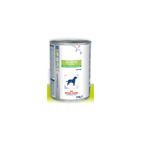 Aliment humide Royal Canin Veterinary Diet Dog Diabetic 12 x 410 g pour chien diabétique