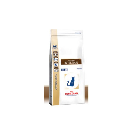 Croquettes Royal Canin Veterinary Diet Cat Gastro Intestinal GI32 sac 400 g pour chat - Royal Canin