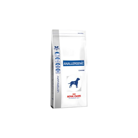 Croquettes Royal Canin Veterinary Diet Dog Anallergenic AN18 sac de 8 kg pour chien