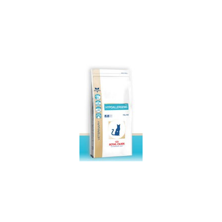Croquettes Royal Canin Veterinary Diet Cat Hypoallergenic DR25 sac 500 g pour chat - Royal Canin