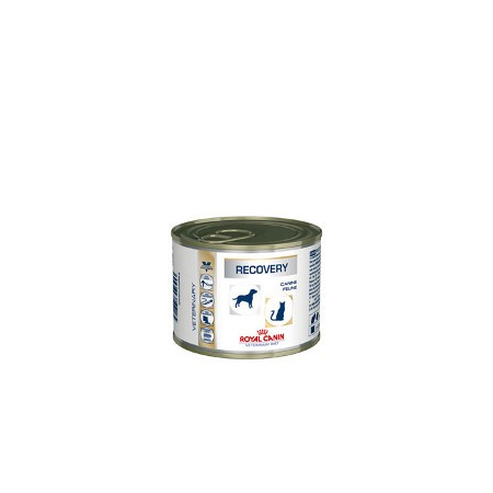 Royal Canin Veterinary Diet Recovery 12 x 195 g soutien nutritionnel pour animaux convalescents