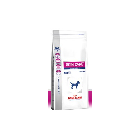 Croquettes Royal Canin Veterinary Diet Dog Skin Care Small Dog SKS25 sac 2 kg pour chien