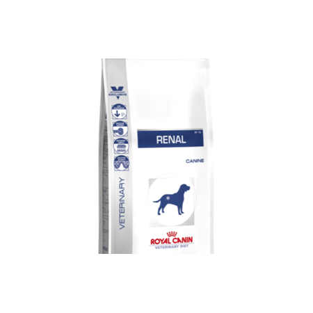 Croquettes Royal Canin Veterinary Diet Dog Renal RF14 (exRF16) sac 14 kg pour chien