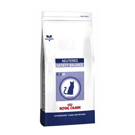 Croquettes Royal Canin Vet Care Nutrition Cat Neutered Satiety Balance sac 400 g pour chat