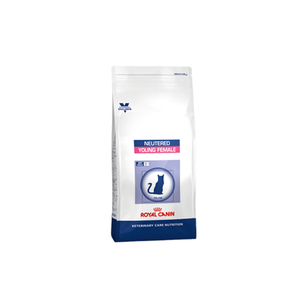 Croquettes Royal Canin Vet Care Nutrition Neutered Cat Young Female sac 1.5 kg pour chatte - Royal Canin