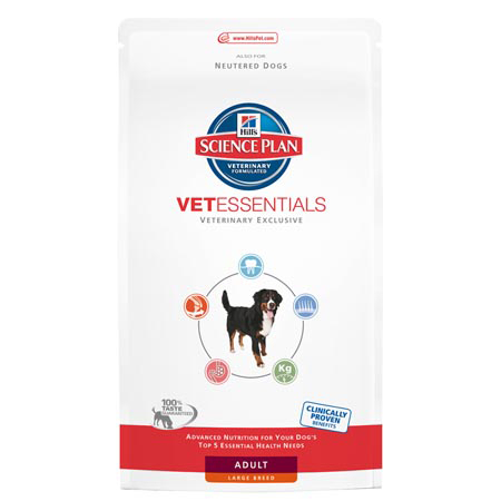 Science Plan VetEssentials Canine Adult Large 13 kg Croquettes chien