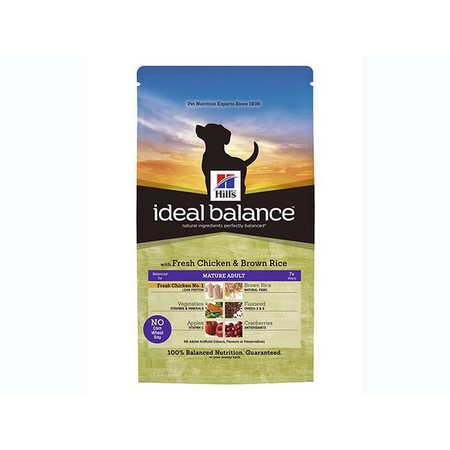 Ideal Balance Canine Mature Adult Poulet & Riz 12 kg Croquettes chien - Hill's Pet Nutrition