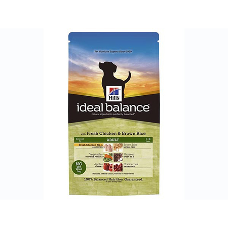 Ideal Balance Canine Adult Poulet & Riz 12 kg Croquettes chien - Hill's Pet Nutrition