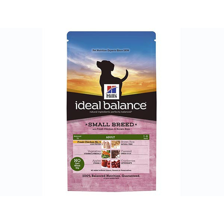 Ideal Balance Canine Adult Small Breed Poulet & Riz 2 kg Croquettes chien - Hill's Pet Nutrition