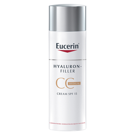 Hyaluron-filler cc cream medium - Eucerin