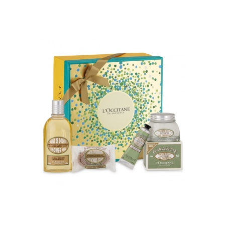 Collection Corps Amande Gourmande de l'Occitane en Provence