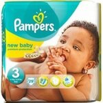 Couches Premium Protection New Baby taille 3 (4 à 9 kg) paquet de 29 couches - Pampers