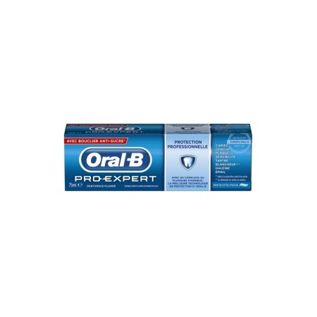 Pro-Expert dentifrice protection anti-tartre menthe extra-fraîche 75 ml - Oral-b