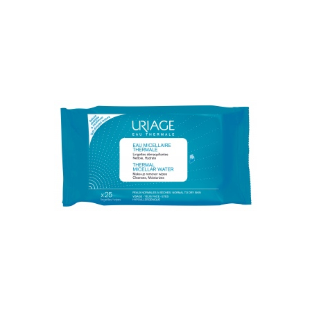 Eau micellaire thermale - 25 lingettes - Uriage