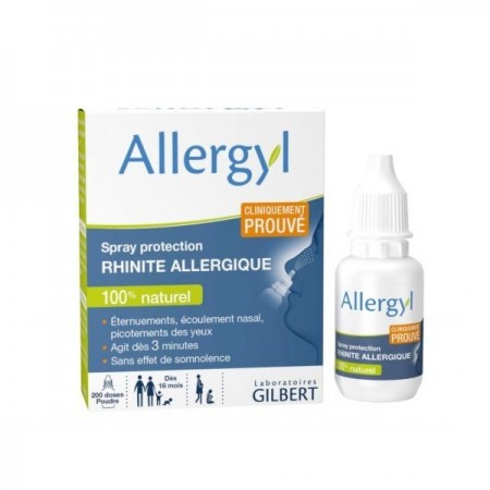 Allergyl Spray protection rhinite allergique - 500 mg - Laboratoires Gilbert