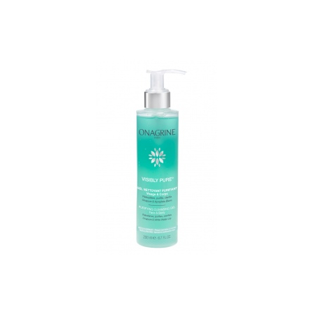 Visibly Pure Gel nettoyant purifiant - 200 ml - Onagrine