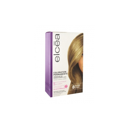 Coloration permanente Blond clair 8