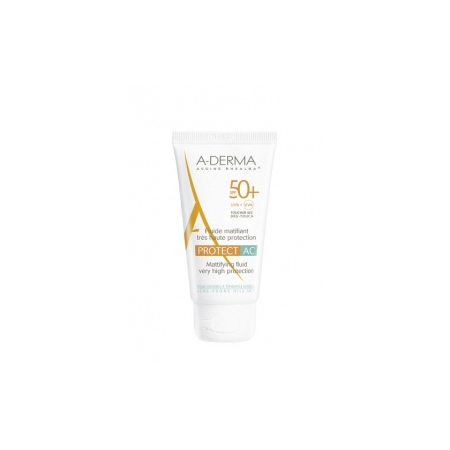 Protect AC - Fluide matifiant très haute protection SPF 50+ - 40 ml - A-Derma