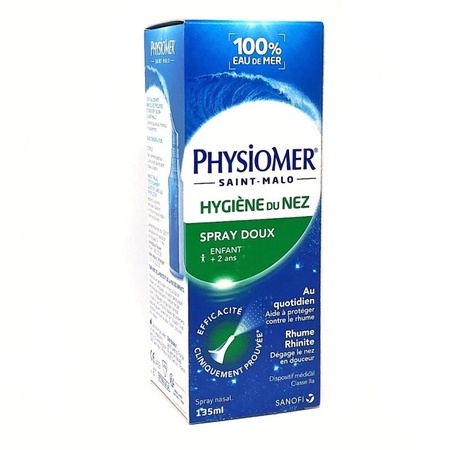 Physiomer - Spray Hygiène du nez 135 ml - Sanofi France