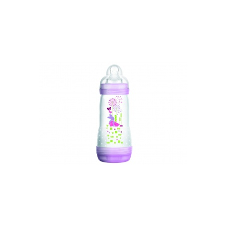 Easy Start Biberon anti-colique rose - 320 ml