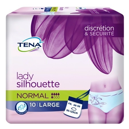 Protections Lady Silhouette normal large - paquet de 10 protections
