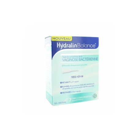 Balance Gel vaginal - 7 monodoses de 5 ml - Hydralin