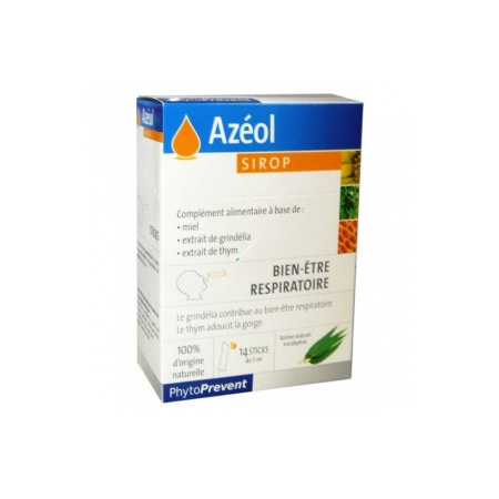 Azéol Sirop - 14 sticks de 5 ml - Pileje