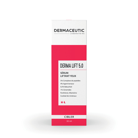 DERMA LIFT 5.0 Sérum liftant contour de l'œil - 30 ml - Dermaceutic